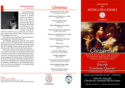 19 de diciembre 2017- Christmas 2017 PROGRAMA