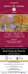 26 de Junio 2018, CARTEL VRecital de Fagot y Violonchelo