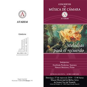 PROGRAMA - 17 de marzo, Melodías para el Recuerdo