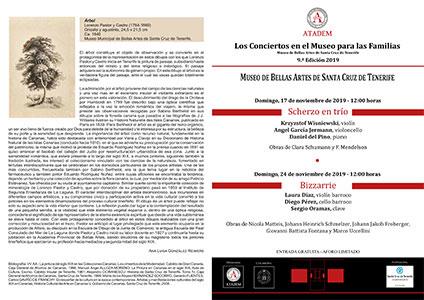 PROGRAMA -  17 de noviembre de 2019, Scherzo en trío - Obras de Clara Schumann y F. Mendelson