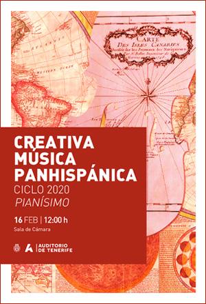 Programa de mano - 16 de febrero de 2020, CREATIVA MÚSICA PANHISPÁNICA CICLO 2020